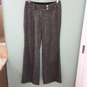 WHBM Women's Flare Leg Legacy Trouser Dress Pants